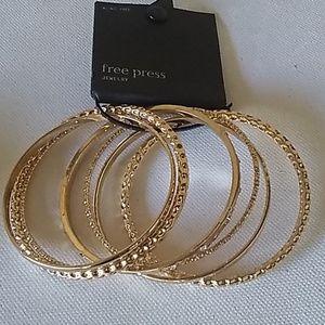 Gold Bangles